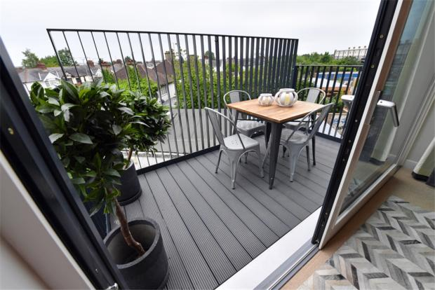 Balcony in another development by Greensquare