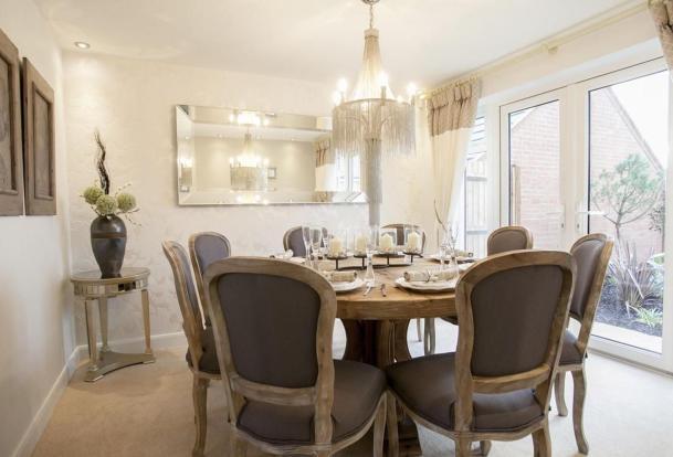 Buckingham dining room