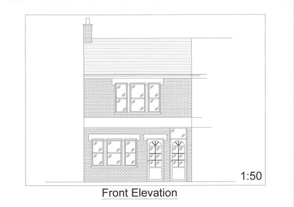 Front elevation p...