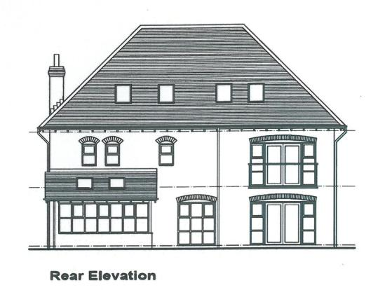 Rear Elevation...