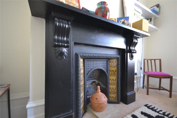 Reception Fireplace