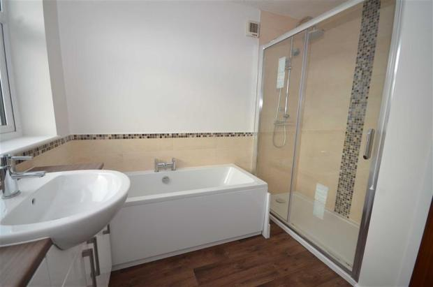 Refitted Bath/Shower
