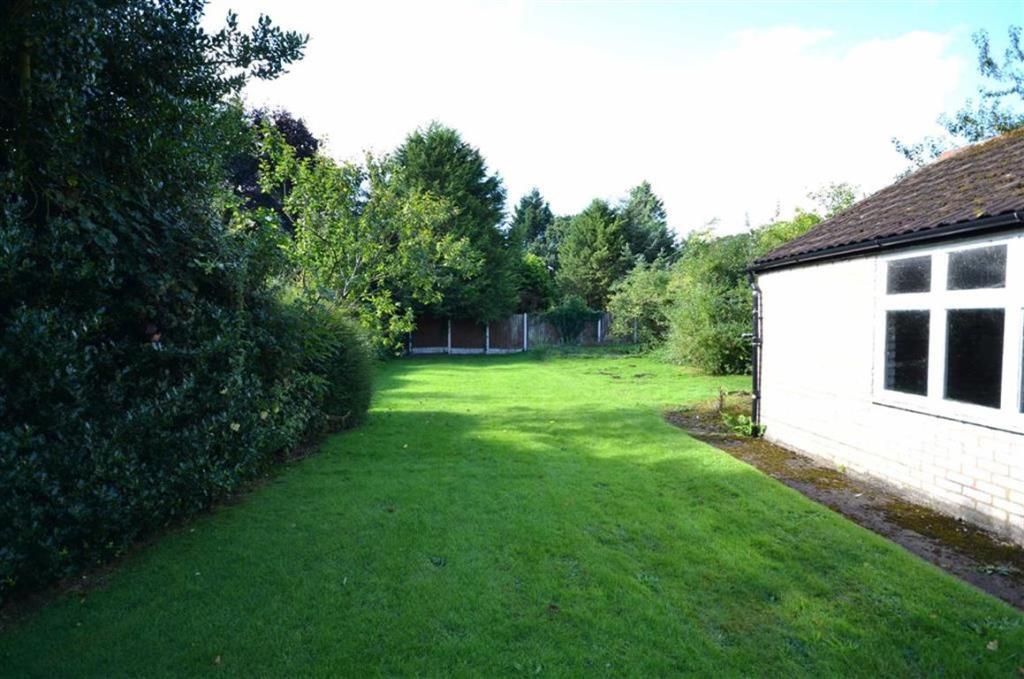 Large Rear Garden