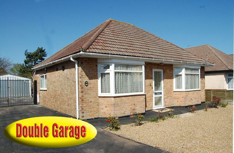 2 bedroom detached bungalow for sale in double width for Detached garage for sale