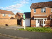 semi detached house for sale in Hadfield Way, Fordbridge