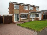 semi detached property for sale in Newby Grove, Bacon's End