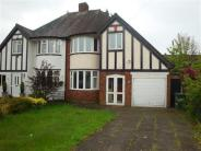 semi detached home for sale in Hazelhurst Road...