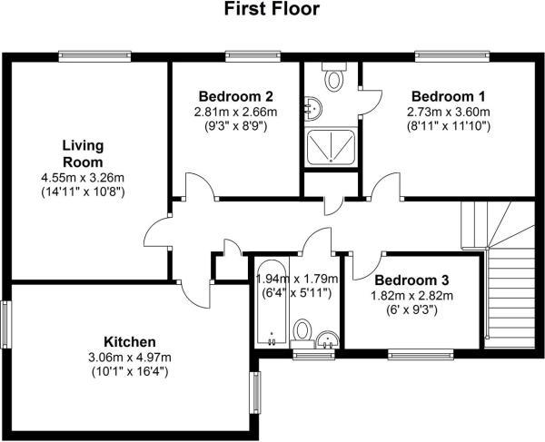 42 Redvers Way floor