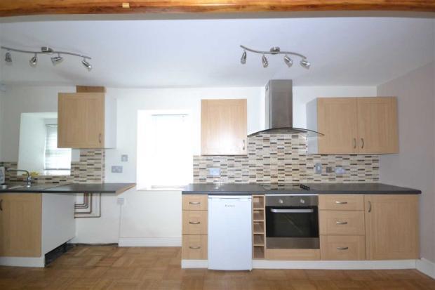 open plan kitchen...