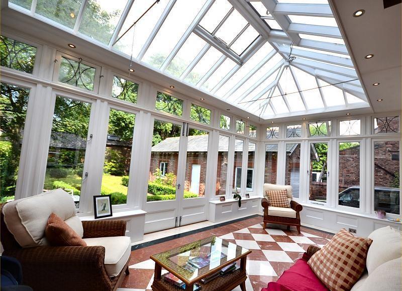photo of conservatory garden room
