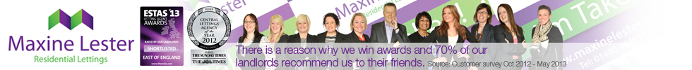 Get brand editions for Maxine Lester Residential Lettings, St. Ives