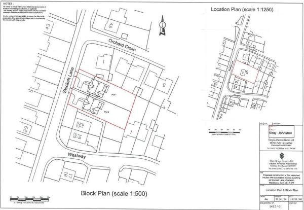 Block Plan and Lo...