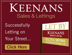 Get brand editions for Keenans Estate Agents, Accrington - Lettings