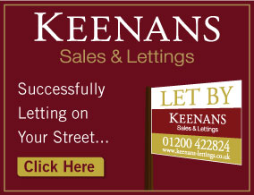 Get brand editions for Keenans Estate Agents, Clitheroe - Lettings
