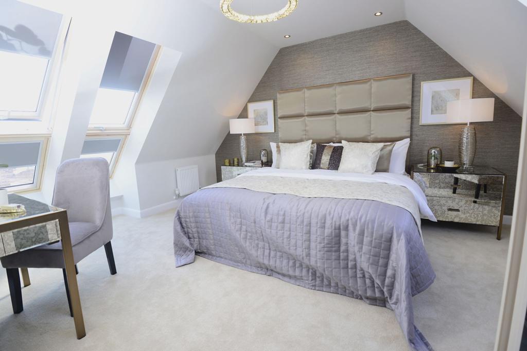 Moorecroft master bedroom