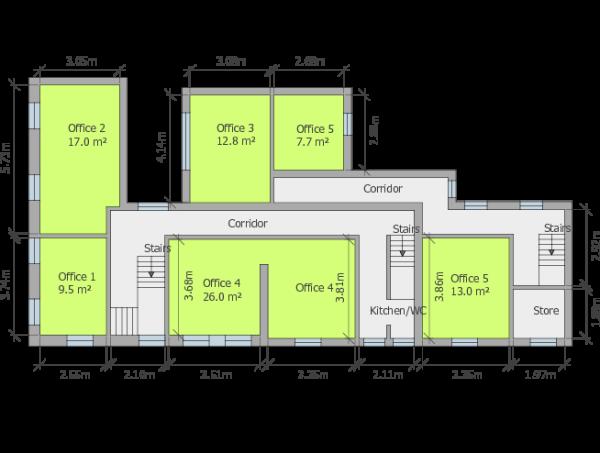 Floor Plan (Offices