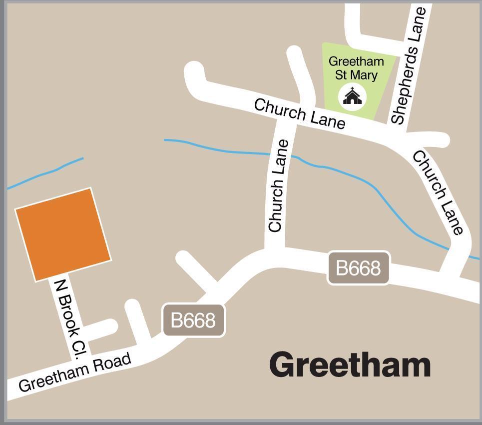Location of Greetham