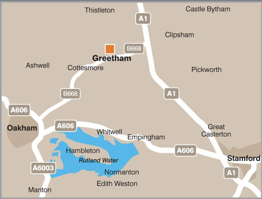 Rutland Map