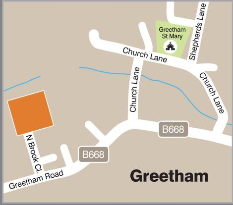 Location of Greetham