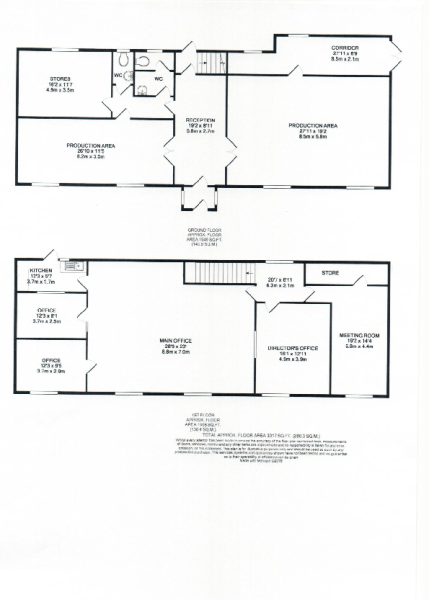 Floorplan 3017 sq. f
