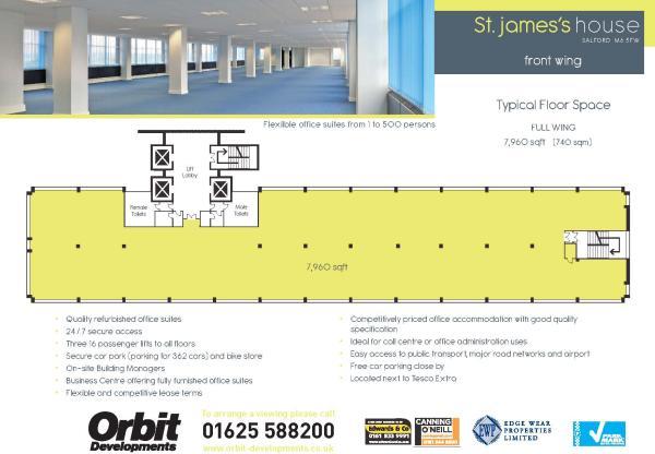 St James' Floorplan