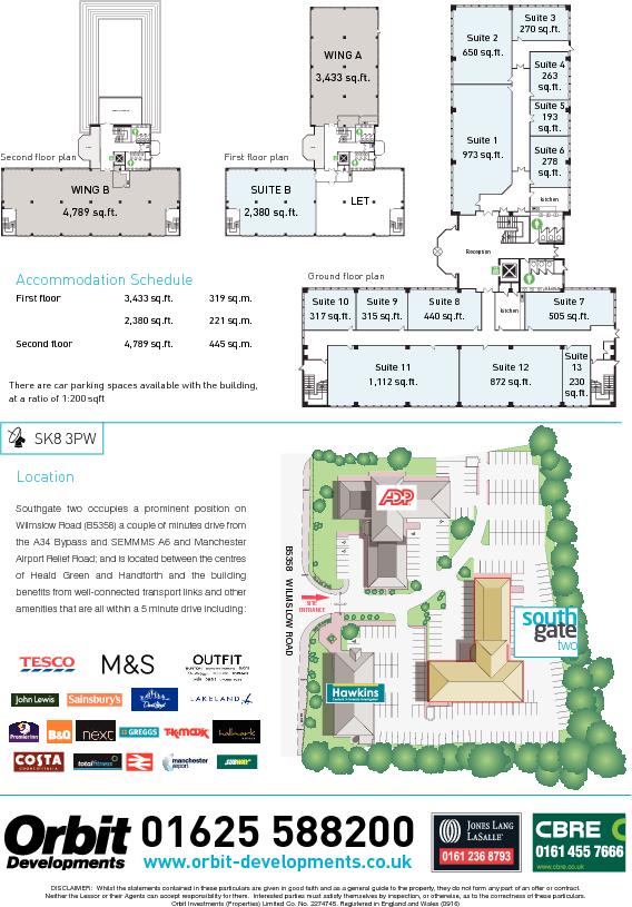 Southgate Floorplan