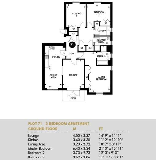 Plot 71, Ground Floor