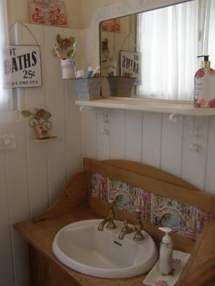 Part of bathroom