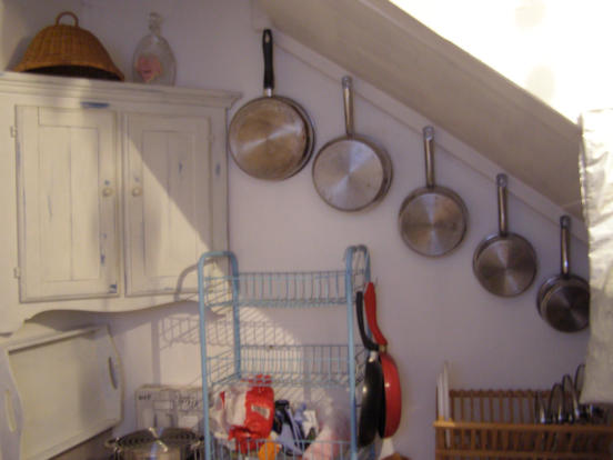 Room off kitchen