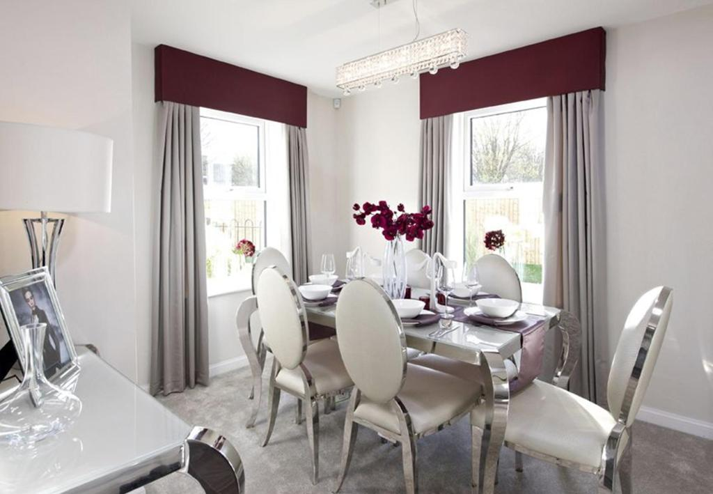 Typical Lincoln separate dining room