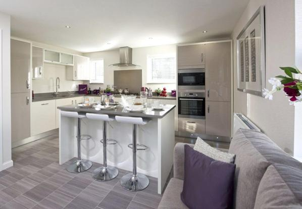 Typical Lincoln breakfast area to the fitted kitchen