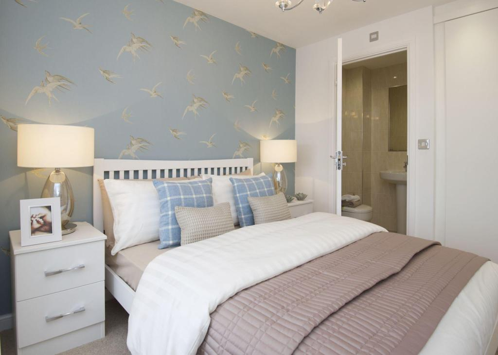Typical Finchley master bedroom with en suite