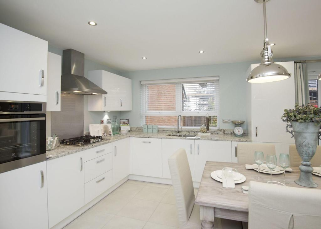 Typical Chesham fitted kitchen with dining area