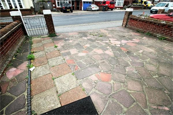 Paved Forecourt