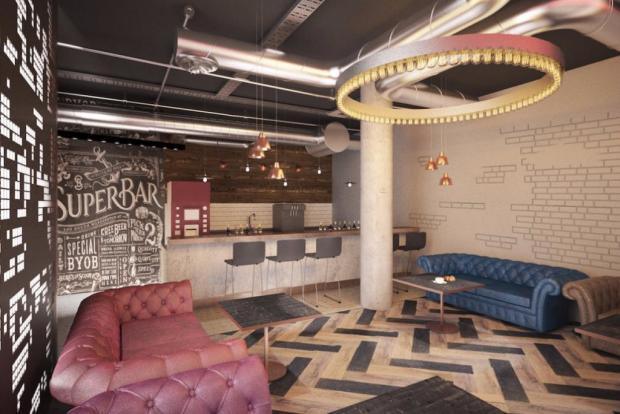 Exclusive VIP bar