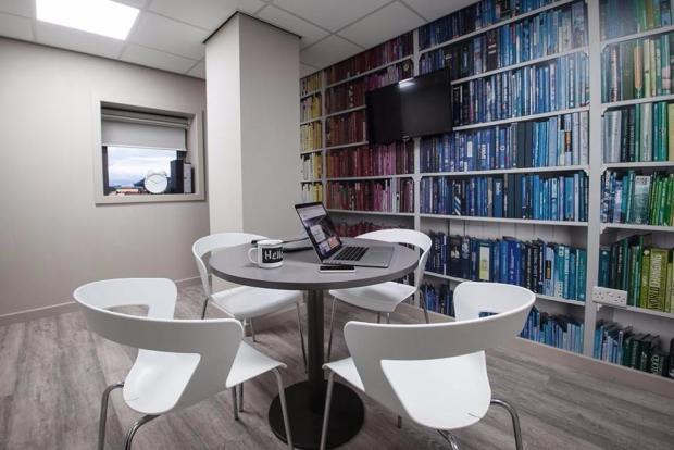 Group study areas