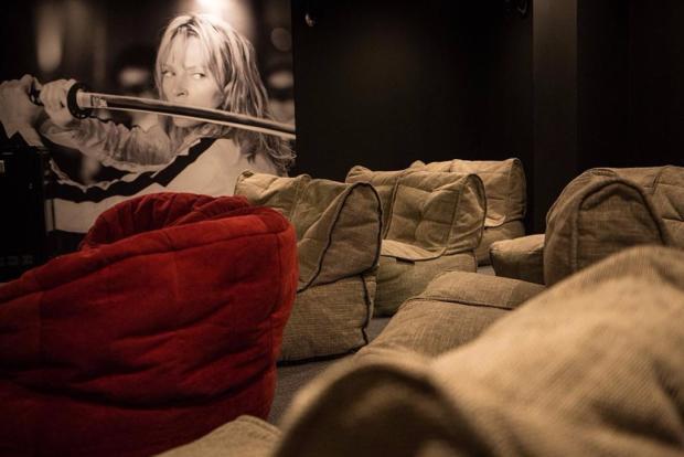In-house cinema room