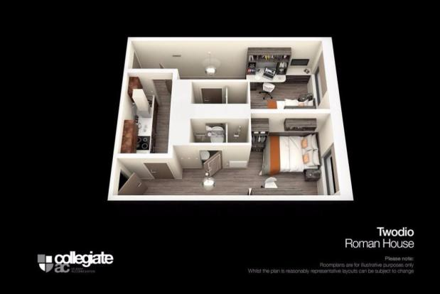 Twodio room plan