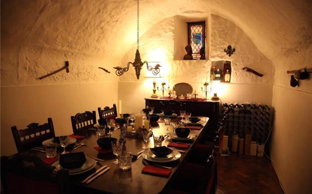 Vaulted Dininh Room