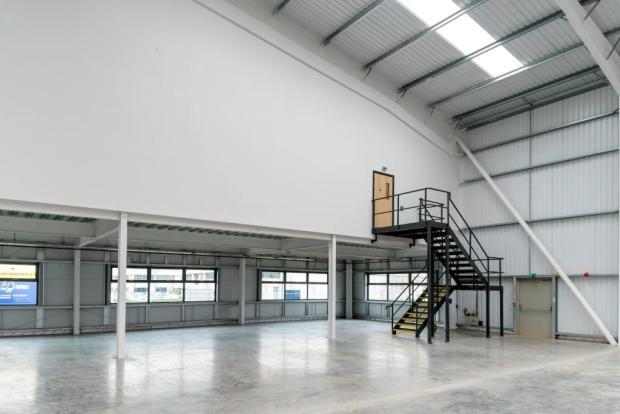 Warehouse mezz