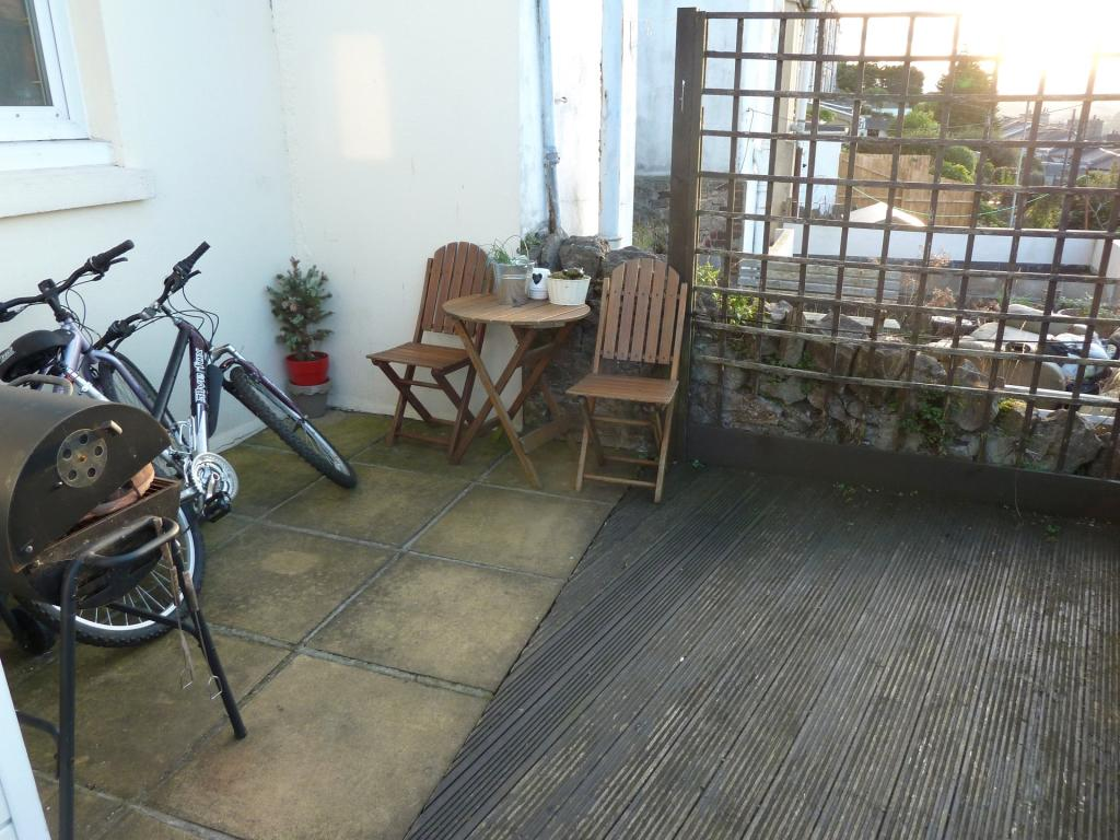 Front Patio Area