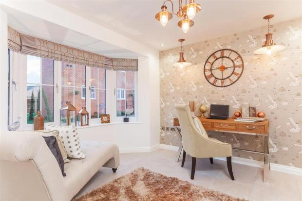 Typical Taylor Wimpey Show Home