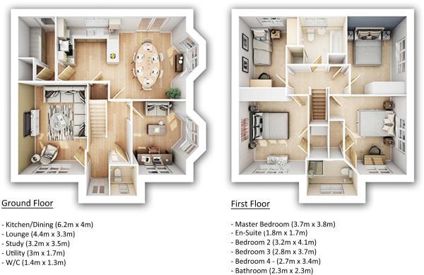 Newbury floorplan