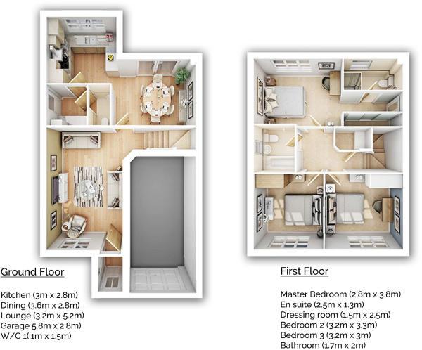 Redwood floorplan