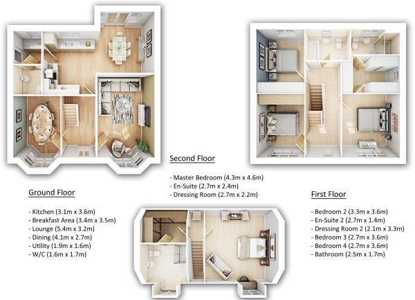 Glenmore Floorplan