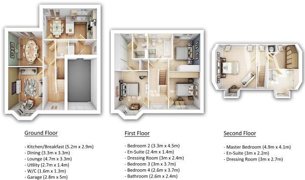 Kielder Floorplan