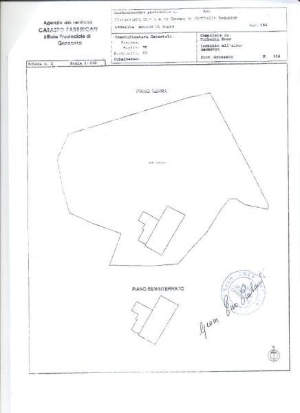 Plan of house land