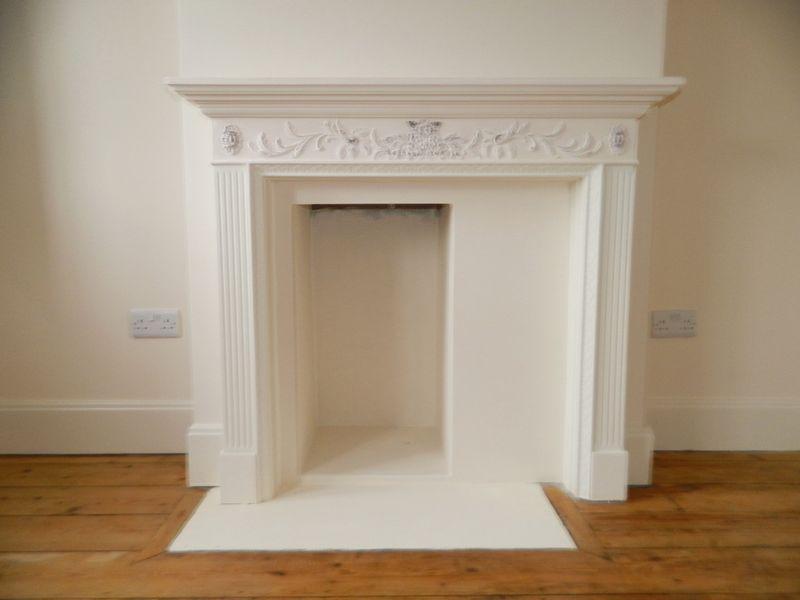 Fireplace to B...