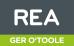 REA, Ger O'Toole logo