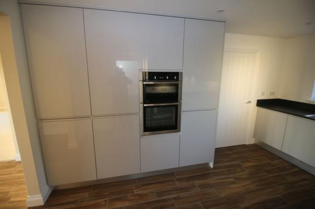 Bank of Cupboards